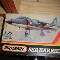 Maquetas: SEA HARRIER, MATCHBOX 1/72. Lote 47143917
