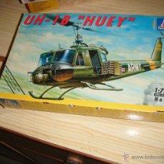 Maquetas: BELL UH-1 HUEY, ITALERI 1/72. Lote 47191273