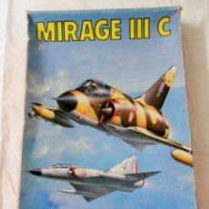 Maquetas: ESCI - ERLT MIRAGE IIIC ESCALA 1/48 REF.4087. Lote 51088538