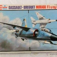 Maquetas: ESCI - REVELL MIRAGE F1 C/CG/CE/CZ/ DASSAULT - BREGUET ESCALA 1/48 REF.H-2235. Lote 51088657