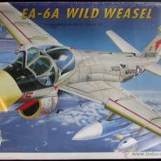 Maquetas: MAQUETA ITALERI 1/72 GRUMMAN EA-6A INTRUDER 'WILD WEASEL' #051. Lote 57197733