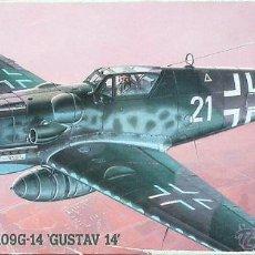 Maquetas: MAQUETA HASEGAWA 1/72 MESSERSCHMITT BF 109G-14 'GUSTAV 14' #AP18 (51318). Lote 71666613