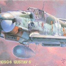 Maquetas: MAQUETA HASEGAWA 1/72 MESSERSCHMITT BF 109G-6 'GUSTAV 6' #AP17 (51317). Lote 54499179
