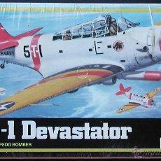 Maquetas: MAQUETA MPC 1/72 DOUGLAS TBD-1 DEVASTATOR - 1983 #1-4111. Lote 28698602