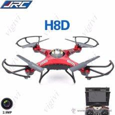 Maquetas: JJRC H8D 4CH 360° FLIPS 2.4GHZ RC QUADCOPTER W 2MP FPV CAMERA DRONE,DRON CON CAMARA-NUEVO. Lote 58657106