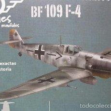 Maquetas: AVION DE GUERRA A ESCALA 1/72 DE COLECCION DIE CAST MESSERSCHMITT BF 109 F-4 AEMANIA NAZI. Lote 58573037