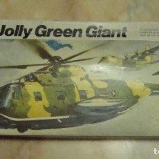 Maquetas: (TC-17) MAQUETA HELICOPTERO SIKORSKY HH-3E JOLLY GREEN GIANT ESCALA 1/72 REVELL NUEVO. Lote 77646493