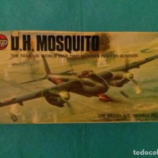Maquetas: MAQUETA DE HAVILLAND MOSQUITO -AIR FIX - ESCALA 1-72. Lote 79525181