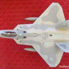 Maquetas: MAQUETA METÁLICO AVIÓN F-22 RAPTOR DE HOBBY MASTER. Lote 94149685
