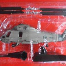 Maquetas: KAMAN SH-2F SEASPRITE, NUEVA ZELANDA. ALTAYA METÁLICO ESCALA 1/72 + REVISTA. Lote 94549551