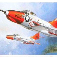 Maquetas: MAQUETA HASEGAWA 1/72 GRUMMAN F9F-8 COUGAR #D10 (D012). Lote 98715307