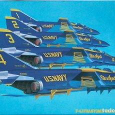 Maquetas: MAQUETA HASEGAWA 1/72 MCDONNELL DOUGLAS F-4J PHANTOM II 'BLUE ANGELS' #SP51 (51551). Lote 98715447