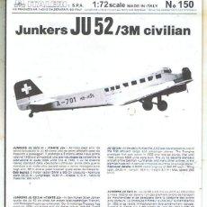 Maquetas: INSTRUCCIONES DE MONTAJE DEL LOCKHEED SR-71 DE ITALERI ESCALA 1/72. Lote 103849063