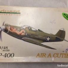 Maquetas: P-400 AIR A CUTIE 1:48 EDUARD LÍMITED EDITION 1110. Lote 106569959