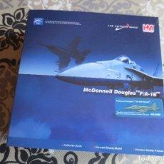 Maquetas: AVION MCDONNELL DOUGLAS F/A-18 ESCALA 1:72 - EJERCITO DEL AIRE. Lote 106573071