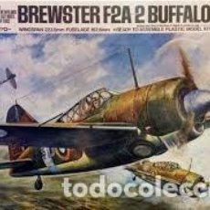 Maquetas: TAMIYA - BREWSTER F2A 2 BUFFALO 61019 1/48. Lote 106595711