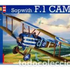 Maquetas: REVELL - SOPWITH F.1 CAMEL 04747 1/28. Lote 110156687