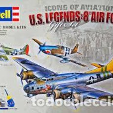 Maquetas: REVELL - U.S LEGENDS:8TH AIR FORCE 05794 1/72. Lote 110157343