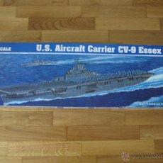 Maquetas: U.S AIRCRAFT CARRIER CV - 9 ESSER. ESCALA 1:350. TRUMPETER .NUEVO. VER FOTOS.. Lote 39637766
