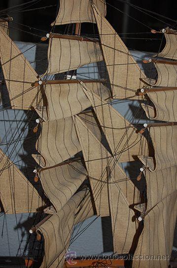 Maquetas: Maqueta de barco GREAT REPUBLIC 1835 - Foto 4 - 46756470