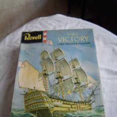 Maquetas: ANTIGUA MAQUETA REVELL H.M.S.VICTORY LORD NELSON`SFLAGSHIP H-363. Lote 49041688