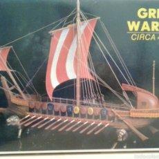 Maquetas: GREEK WARSHIP BIRREME GRIEGO DE GUERRA. Lote 61895002