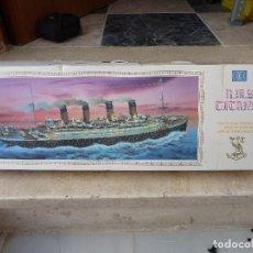 Maquetas: MAQUETA BARCO RMS TITANIC - LEE - ESCALA 1/360 - LONGITUD 74,67 CENTIMETROS. Lote 83089844