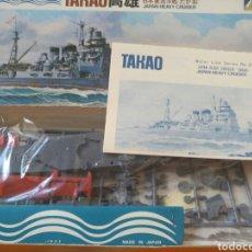 Maquetas: AOSHIMA 1/700 TAKAO. Lote 96547939
