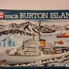 Maquetas: WAGB BURTON ISLAND. REVELL 1/300. Lote 98133851