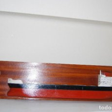 Maquetas: MAQUETA DE BARCO MERCANTE - SANTA FE 21000 T - METOPA - 1977 - GRAN TAMAÑO. Lote 98198663