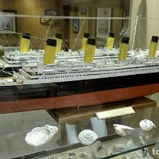 Maquetas: MAQUETA ESCALA 1/250 TRANSATLANTICO RMS TITANIC. Lote 98569799