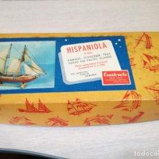 Maquetas: MAQUETA BARCO HISPANIOLA R-404 CONSTRUCTO SAN LUIS. Lote 98796367