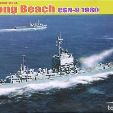 Maquetas: MAQUETA CYBER-HOBBY 1/700 USS LONG BEACH CGN-9 '1980' #7135. Lote 98893203
