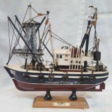 Maquetas: MAQUETA DE BARCO DELICATE FISHING BOAT PALLAVI. Lote 99129539