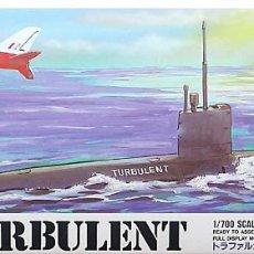 Maquetas: MAQUETA ARII 1/700 HMS TURBULENT S-87 #6 (A646). Lote 99301543