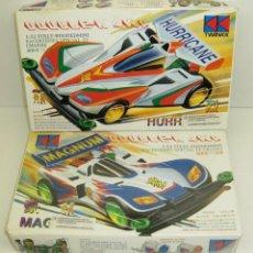 Maquetas: TWINKK DOUBLE-K HURRICANE + MAG-NUM 2 MAQUETAS MOTORIZADAS MINI 4WD 1/32. Lote 46654834