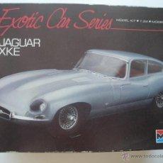 Maquetas: JAGUAR XKE DE MONOGRAM EXOTIC CAR SERIES A 1/24 MUY RARA. Lote 51391517