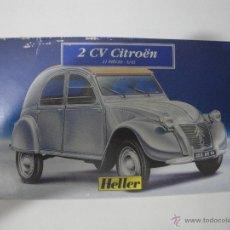 Maquetas: CITRÖEN 2 CV DE HELLER A 1/43. Lote 51391671