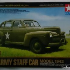 Maquetas: US ARMY STAFF CAR 1942 1:48 TAMIYA. Lote 64861487