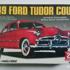 Maquetas: FORD TUDOR COUPE 1949 1:32 LINDBERG. Lote 64862659