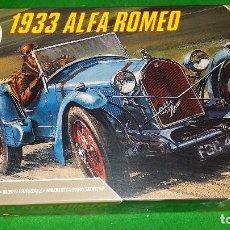 Maquetas: MAQUETA ALFA ROMEO 1933 – 1/32 – AIRFIX SERIES 2 – RARA – ADAPTABLE SLOT CAR. Lote 76463699