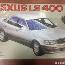 Maquetas: MAQUETA COCHE LEXUS LS 400. Lote 84336582