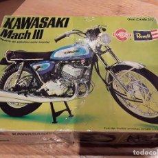 Maquetas: REVELL KAWASAKI MACH III. Lote 81192580