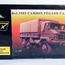 Maquetas: NIMIX REF 3505 KIT DE MONTAJE EN RESINA PEGASO CARGA 3055 6X6. Lote 69310113