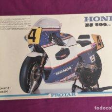 Maquetas: HONDA NS-500 1:9 PROTAR 200 MAQUETA MOTO. Lote 98687358