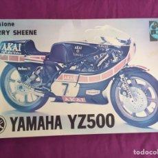 Maquetas: YAMAHA YZ500 BARRY SHEENE 1:9 PROTAR 163 MAQUETA MOTO. Lote 98687804