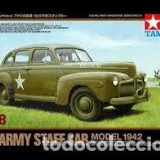 Maquetas: TAMIYA - U.S. ARMY STAFF CAR MODEL 1942 32559 1/48 . Lote 103547195