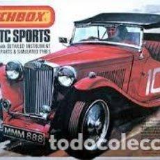 Maquetas: MATCHBOX - M.G. TC SPORTS PK-306 1/32. Lote 103547231