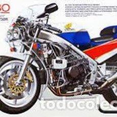 Maquetas: TAMIYA - HONDA VFR 750R RC30 14057 1/12. Lote 103547575