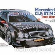 Maquetas: TAMIYA - MERCEDES BENZ CLK DTM 2000 TEAM WARSTEINER 24239 1/24. Lote 103610395